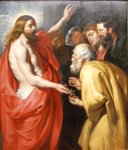 Christ_giving_the_Keys_of_Heaven_to_St._Peter_by_Peter_Paul_Rubens_-_Gemäldegalerie_-_Berlin_-_Germany_2017